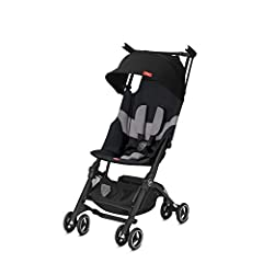 Collapsible & Compact Design: This travel stroller's ultra-compact and collapsible design ensures it will fit in most overhead compartments on planes and trains, eliminating the need to check your baby stroller while travelling. Lightweight Convenien...