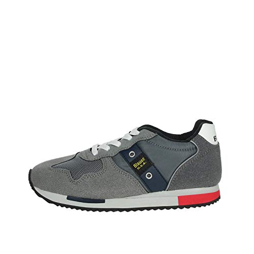 Blauer Scarpe Uomo Sneakers in camoscio Grigio F0DASH02-NYL-GRY