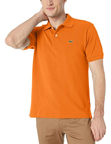 Lacoste Men's Classic Short Sleeve Discontinued L.12.12 Pique Polo Shirt, Rocket, X-Small