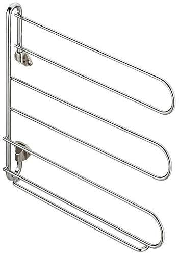 Closet Organizer Holder Wall Mount TieBelt Rack Swivels 90° Chrome Plated-Tie rack-Tie racks -Tie hanger-Tie organizer-Tie racks for closets-Tie holder organizer-Tie hangers for men