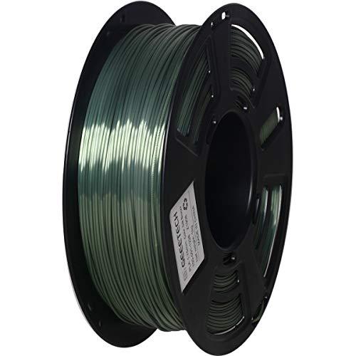 PLA Filament 1.75mm Silky bronze, GEEETECH Filament pla for 3d Drucker and 3D stifte, 1kg, 1 spool