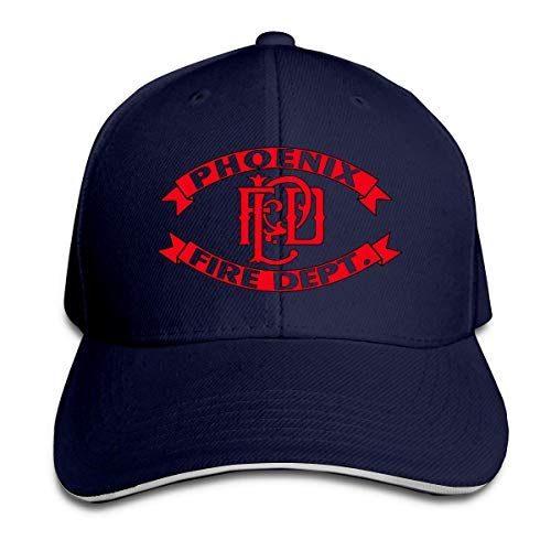 485 Baseball Cap,Phoenix Firefighter,Denim Hat Classic Casquette Hat Washable Casual Hat Outdoor Dad Hat Adjustable Snapback Cap for Boys Girls
