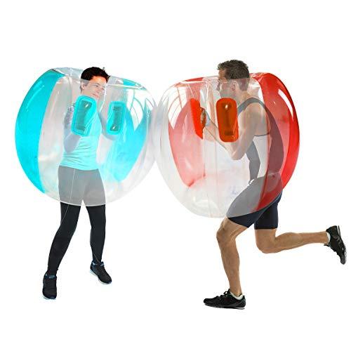 Shangle-sunshine 2 PC Bumper Balls, Inflatable Body Bubble Ball Sumo Bumper Bopper Toys, Heavy Duty Durable PVC Vinyl Kids Physical Outdoor Active Play(2PCS 47INCH)
