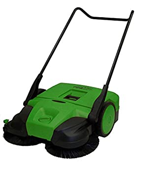 Bissell Commercial BG477 Push Power Sweeper - Manual  Green