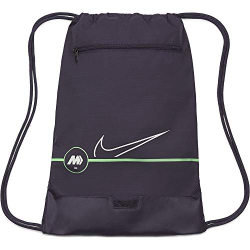 Nike CU8163-573 NK MERC GMSK - SP21 Sports bag womens dark raisin/rage green/(platinum tint) MISC
