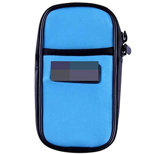 LHY Rutschfeste Armtasche Outdoor Laufen Handy Armtasche Männer und Frauen Handgelenktasche Fitness Sportgeräte Handy Arm Sleeve Armtasche Haltbar (Farbe: Blau)