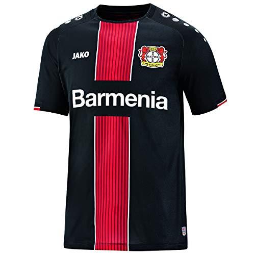 JAKO Herren Away, (Saison 19/20) Bayer 04 Leverkusen Trikot, schwarz, XL