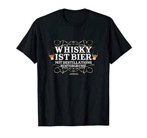 Whisky Design Spruch Whisky ist Bier | Geschenkidee T-Shirt