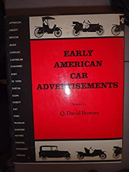 Hardcover Early American Car Advertisements Book