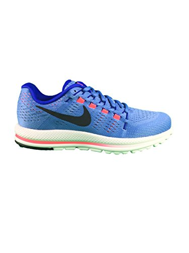 Nike Wmns Air Zoom Vomero 12, Sneakers Mujer, Azul (Deep Royal Blue/Summit White/Black), 38 EU