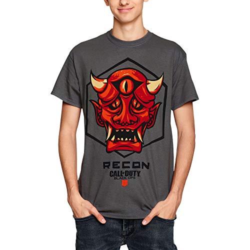 Call of Duty Herren T-Shirt Recon Badge Black Ops III Baumwolle grau - XXL