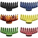 6-Pieces Vorkoi Big 4.3 Inches Hair Claw Clips