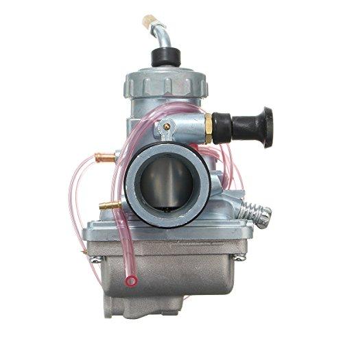 Viviance Carburador del Motor Carb 28mm Compatible con Mikuni VM24 Compatible con Yamaha SR 125 YFS200 DT100 125175 RT100 180 TTR125 YZ80 Suzuki RM60 65 80 85 Kawasaki KX60 65