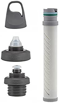 LifeStraw Universal Water Filter Bottle Adapter Kit Fits Select Bottles from Hydroflask, Camelbak, Kleen Kanteen, Nal...