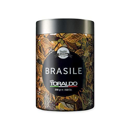 Caffè Toraldo Brasile Caffe' Macinato Macinato in Barattolo
