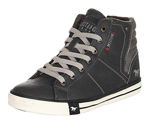 MUSTANG Shoes Damen Schuhe High Top Sneakers knöchelhoch 1146-526-259 Graphit 42