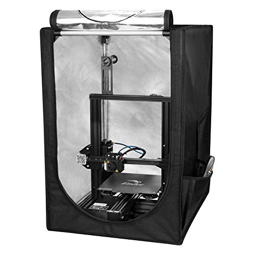 Creality 3D Printer Enclosure with Constant Temperature, Fireproof Waterproof Dustproof Protective Cover Warm Tent for Ender-3 Pro/CP-01 / Ender-2 / CR-100 Printer