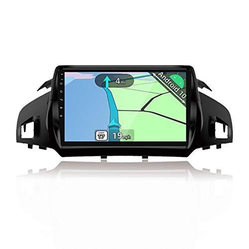 YUNTX Android 10 Autoradio compatibile con Ford Kuga (2013-2017) - GPS 2 Din - 2GB+32GB - Supporta il controllo del volante/Bluetooth 5.0 / DAB/WiFi / 4G / CarPlay/USB/Mirrorlink