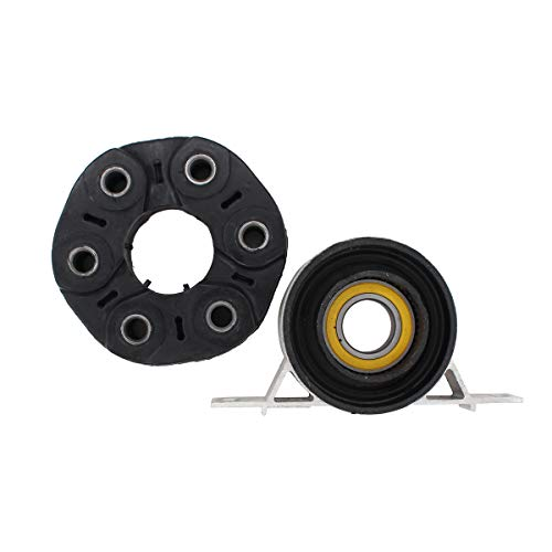 NewYall Driveshaft Flex Disc Joint & Center Support Bearing
