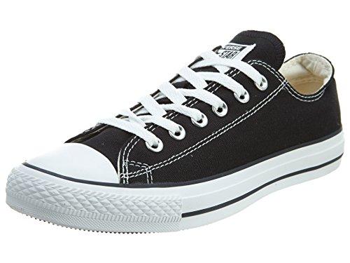 CONVERSE Chuck Taylor All Star Seasonal Ox, Unisex-Erwachsene Sneakers, Schwarz-Weiss(Black/White), 44 EU