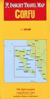 Corfu Insight Travel Map