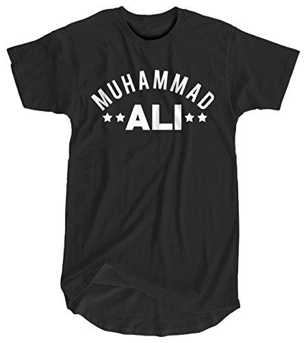 Camiseta Hombre Extra Larga Muhammad Ali - Men's Organic Longer Length T