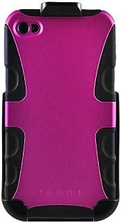 Seidio BD2-HK3IPH4V-HP DILEX 手机壳和皮套组合适用于 Apple iPhone 4/4S - 紫红色