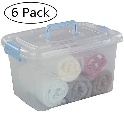 730x405x265-62 litros 2 TODO HOGAR Cajas Almacenaje Plastico Grandes Multiusos con Ruedas Natural