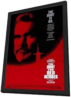 The Hunt for Red October - 27 x 40 Framed Movie Poster