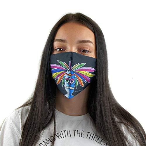 Premium Mundschutz-Maske - Atemschutz - waschbar und wiederverwendbar - MANOLO