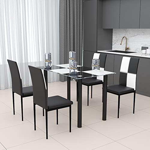 Bespivet Tai ji, Tradi, Geom, Mesa de Comedor de Madera y Juego de sillas, Tai ji Dining Table Chair Set