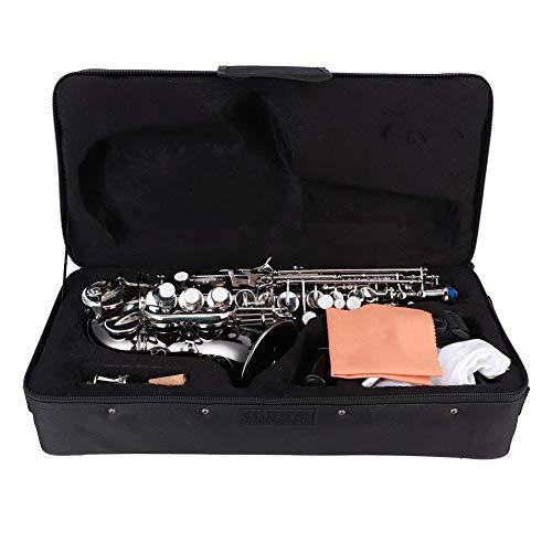 Hitzebeständiges Musikinstrument B-Taste Schwarzes Saxophon für Anfänger