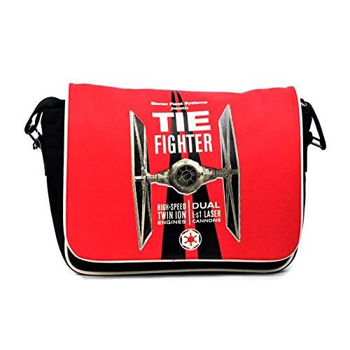 Star Wars - Tie Fighter Red (Borsa Tracolla) Half Moon Merchandising Ufficiale