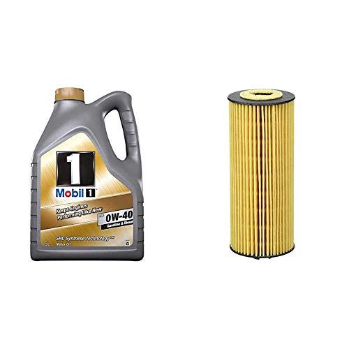 Mobil 1 FS 0W-40, 5L & Mann Filter HU6008Z Ölfilter