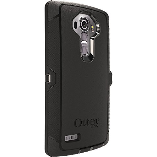 OtterBox Defender Case for LG G4 - Retail Packaging - Black