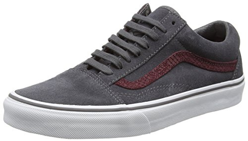 Vans Unisex-Erwachsene Sk8-hi Reissue Low-Top, Grau (Reptile gray/port royale), 41 EU