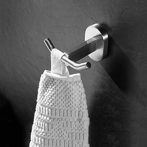 Gysen roestvrij staal huis opslag haken jas haken sleutelhaken gewaad & handdoek haken hulpprogramma haken prong haken bal einde jas en hoed haak voor entryway badkamer garderobe kamer