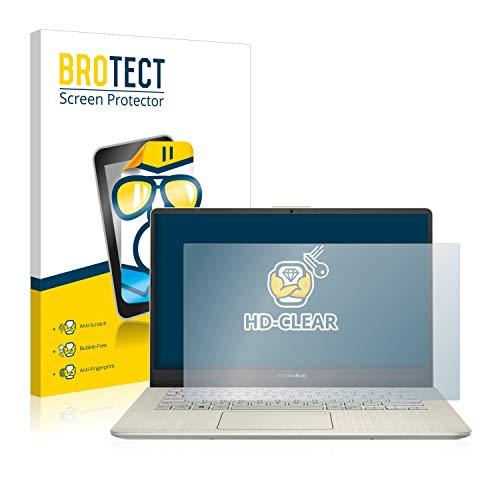 BROTECT Schutzfolie kompatibel mit Asus VivoBook S14 S430UN klare Bildschirmschutz-Folie