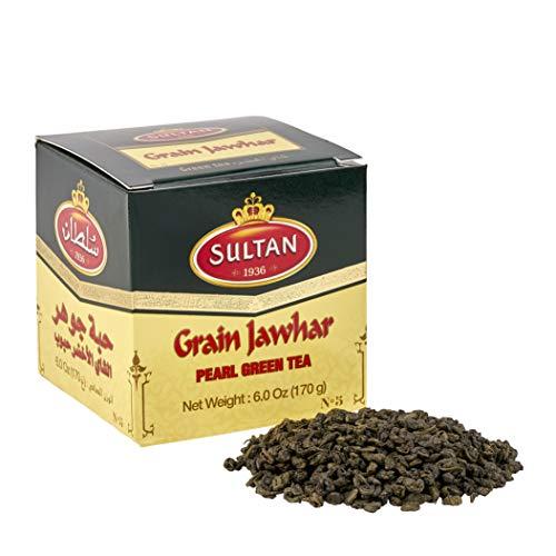SULTAN TEA Marokkanischer Jawhar Lose Grüner Tee Kräutertees 170g (Einzelpackung - 170g)