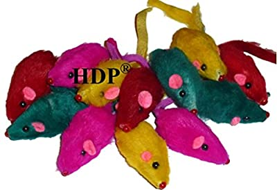Rainbow Mice - Bag of 12 - Cat Toy