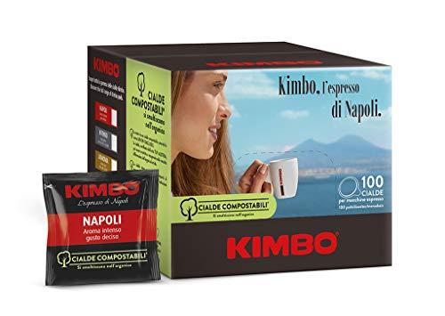 Kimbo Caffe' 100 Kaffeebohnen Espresso NAPOLETANO ESE 44 MM