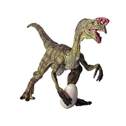 FLORMOON Dinosauri Giocattoli - Realistico Oviraptor Dinosaur- Figure di Dinosauri in plastica - Decorazioni per Torte di Compleanno, Articoli per Feste per Bambini