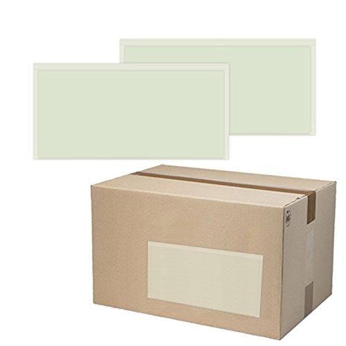 500 St. selbstklebende Dokumententaschen 22,5 x 11 cm DIN Lang Lieferscheintaschen