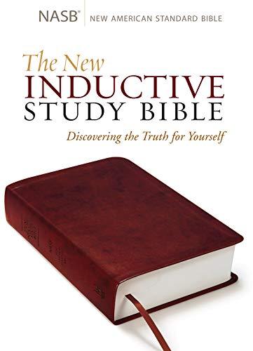 The New Inductive Study Bible Milano Softone™ (NASB, burgundy)