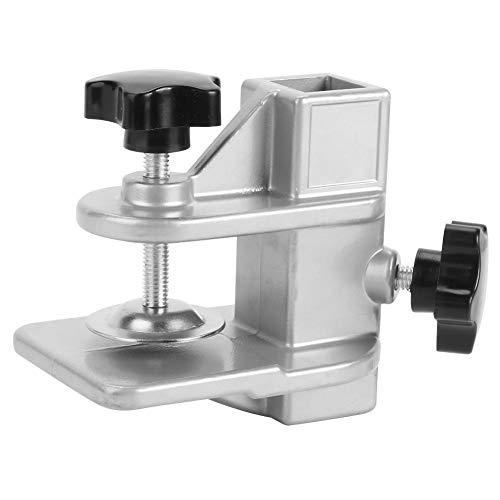 Taidda- Clip di Fissaggio Durevole, Clip da Tavolo per toelettatura in Lega di Alluminio stampaggio pressofuso Intero, per Cane per Gatto(20 * 20mm Hole Fixture)