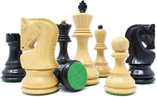 チェスジャパン チェス駒 ロシアン・スタントン 99mm 収納箱付属