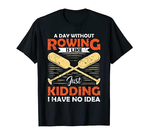 Spruch - Rudern - Ruderer T-Shirt