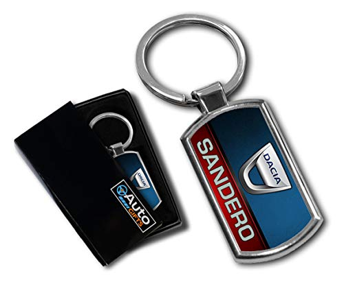 Cargifts Autoschlüsselanhänger, kompatibel mit Dacia Sandero