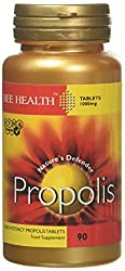 Propolis is a natural substance collected by honey bees from buds and trees Helps to maintain a healthy immune system No artificial preservative and flavours No added sugar, salt or colour Wheat, gluten, yeast, dairy and egg free