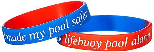 Lifebuoy Système d'Alarme de Piscine - Détecteur de Mouvement de Piscine - Alarme de Piscine Smart contrôlée par Application. Puissantes alarmes retentissantes de Bord de la Piscine et à l'intérieur